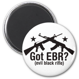 ¿EBR conseguido? AR15 y AK47 Imán Redondo 5 Cm