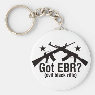 ¿EBR conseguido? AR15 y AK47 Llavero Redondo Tipo Pin