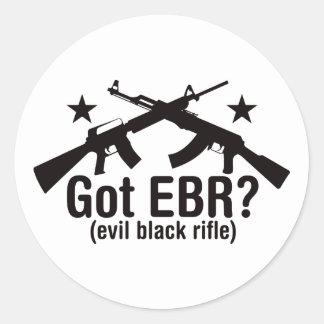 ¿EBR conseguido AR15 y AK47 Etiqueta Redonda