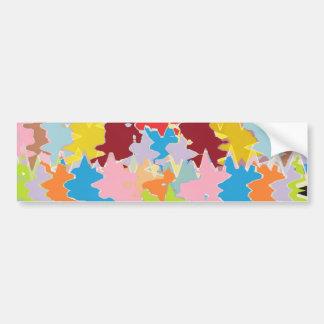 EBR Rainbow Colors Energy Balance Bumper Stickers