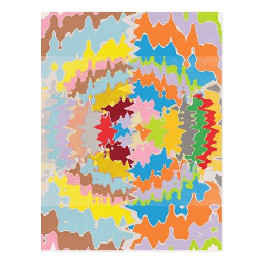 EBR Rainbow Colors:  Energy Balance Postcard
