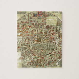 Old world map jigsaw puzzles zazzle ebstorf map jigsaw puzzle gumiabroncs Image collections