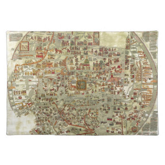 Ebstorfer Old World Map Placemat