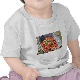 Ebullición de los cangrejos camiseta