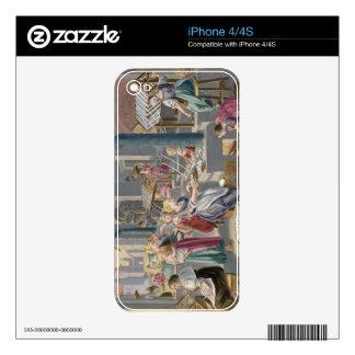 Ebullición de los capullos para destruir el Chrysa Skins Para eliPhone 4