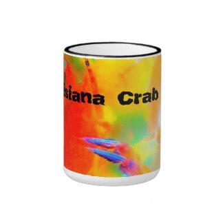 Ebullición del cangrejo de Luisiana Taza De Dos Colores