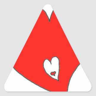 EBULLIENT HEART H F.png Triangle Sticker