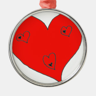 EBULLIENT HEART HOMMES.png Metal Ornament