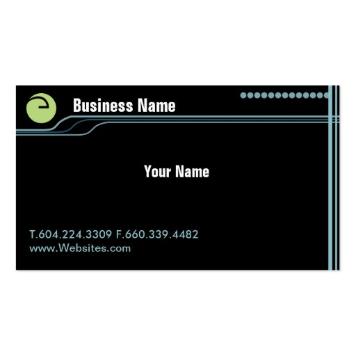 eBusiness Business Card