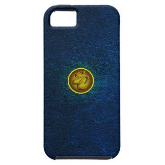 EC Blue Concrete Creations iPhone SE/5/5s Case