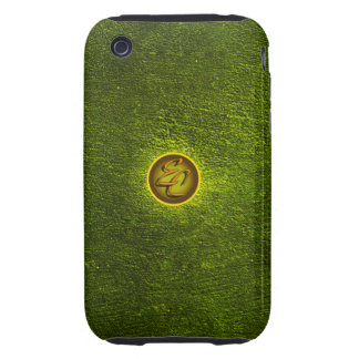 EC Green Concrete Creations Tough iPhone 3 Cover