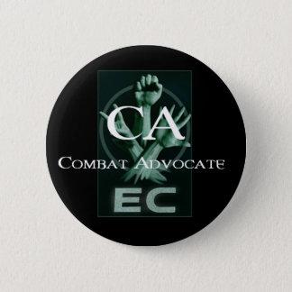 EC Logo Combat Advocate Button