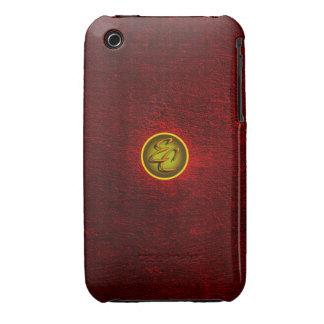 EC Red Concrete Creations iPhone 3 Case