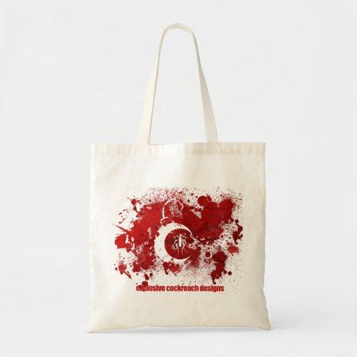 EC Splatter Logo Bag