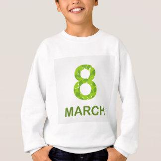 Ecard for march 8- international womens day sweatshirt