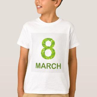 Ecard for march 8- international womens day T-Shirt
