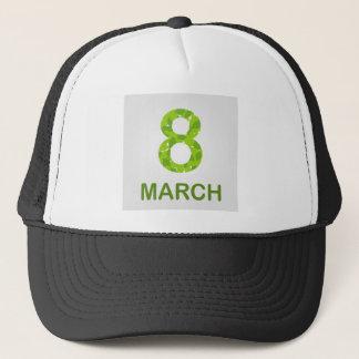 Ecard for march 8- international womens day trucker hat