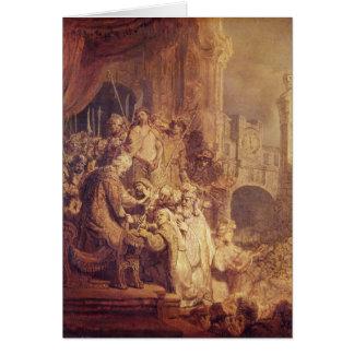 Ecce Homo, 1634 Card
