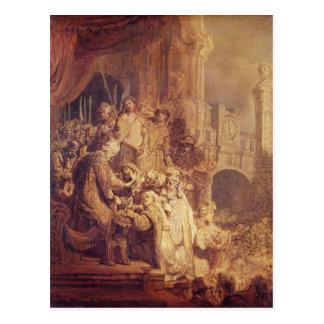 Ecce Homo, 1634 Postcard