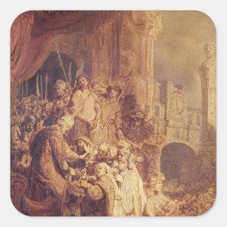 Ecce Homo, 1634 Square Sticker