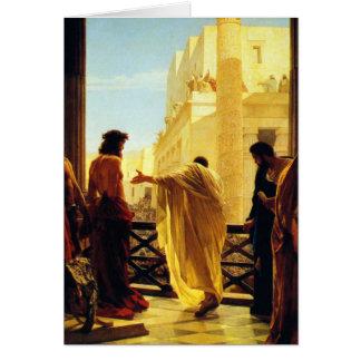 Ecce Homo - Antonio Ciseri Card