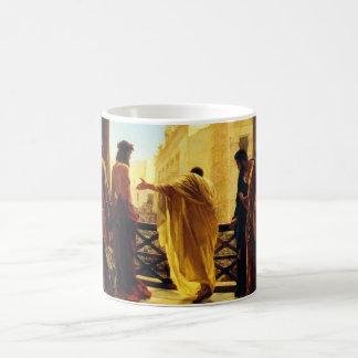 Ecce Homo - Antonio Ciseri Coffee Mug