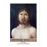 Ecce Homo By Antonello Da Messina Postcard