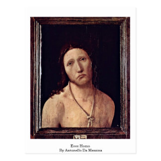 Ecce Homo By Antonello Da Messina Postcards