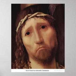 Ecce Homo by Antonello Damessina Print