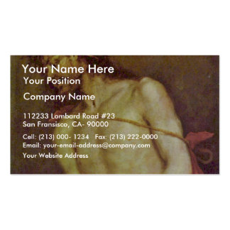 Ecce Homo By Cerezo D. J. Mateo (Best Quality) Business Cards