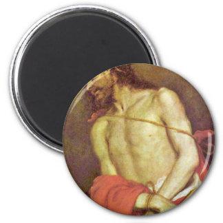 Ecce Homo By Cerezo D. J. Mateo (Best Quality) Fridge Magnets