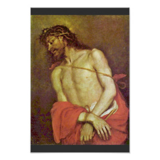 Ecce Homo By Cerezo D. J. Mateo (Best Quality) Poster