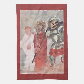 Ecce Homo by Lovis Corinth Hand Towel