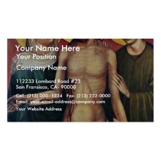 Ecce Homo By Meister Des Imhoff-Altars (Best Quali Business Cards