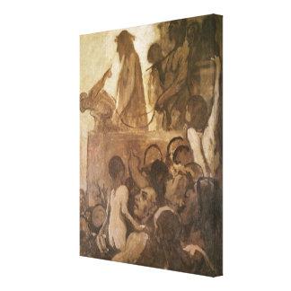 Ecce Homo, c.1848-52 Canvas Print