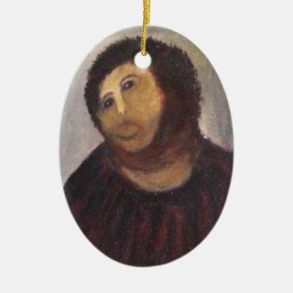 Ecce homo ceramic ornament