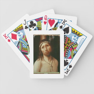 Ecce Homo (oil on panel) Bicycle Playing Cards