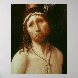 Ecce Homo (oil on panel) Poster