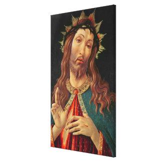 Ecce Homo, or The Redeemer, c.1474 Canvas Print