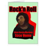 Ecce Homo Rock'n Roll Greeting Card