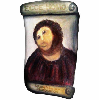 ECCE HOMO Spanish Painting Restoration Fotoescultura Vertical