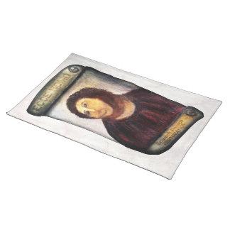 ECCE HOMO Spanish Painting Restoration Mantel Individual