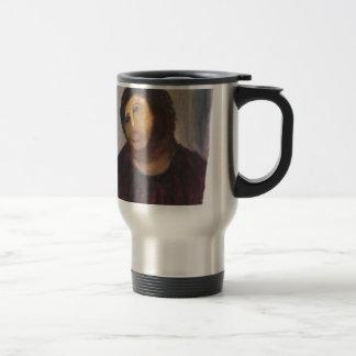 Ecce homo travel mug