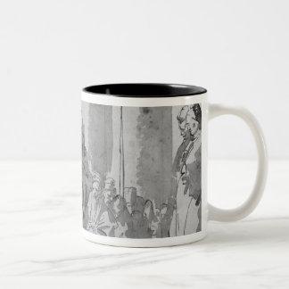 Ecce homo Two-Tone coffee mug