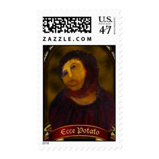 Ecce Potato Postage Stamps