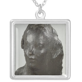 Ecce Puer, 1906 Silver Plated Necklace