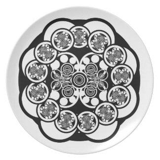 Eccentric Concentric Dinner Plate