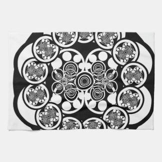 Eccentric Concentric Kitchen Towels