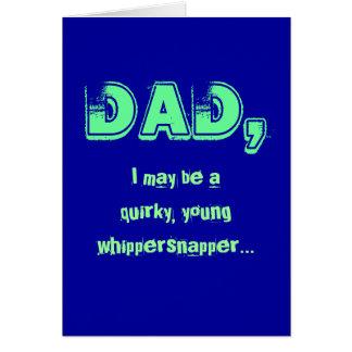 Eccentric Dad Cards