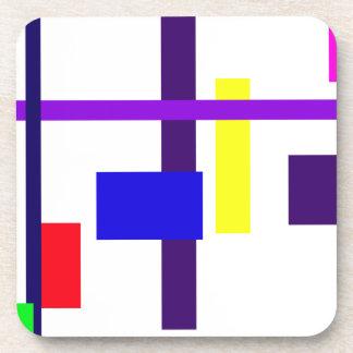 Eccentric Design Coasters